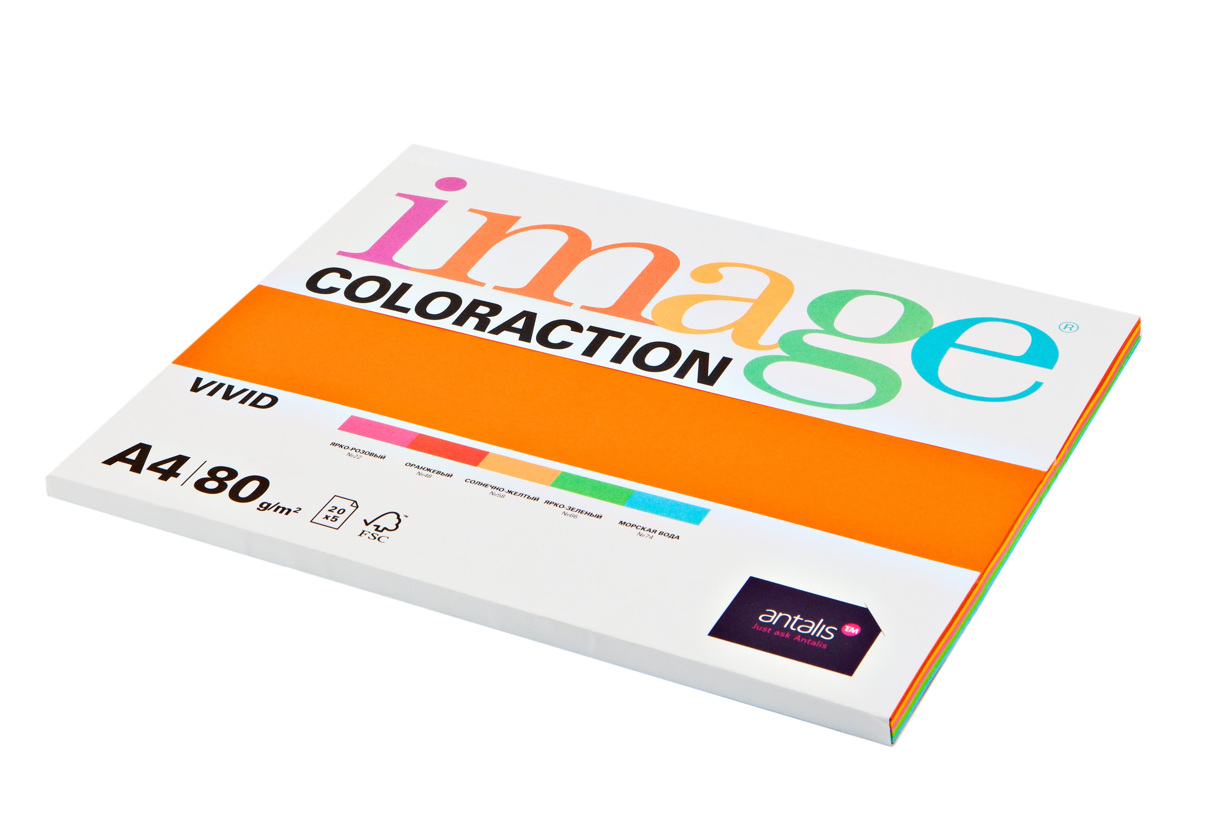 Бумага IMAGE COLORACTION MIX