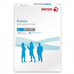 Бумага XEROX BUSINESS А4, 80 г/м2, 500 листов, 165% (CIE)