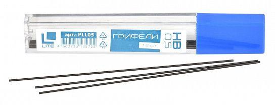 Грифель для механических карандашей LITE 0,5 НВ 12 шт: купить по низкой цене оптом или в розницу с доставкой